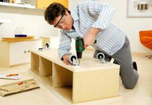 Разгрузка и сборка мебели