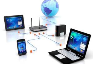 Настройка локальной сети, роутера,интернета