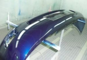 Покраска деталей кузова автомобиля