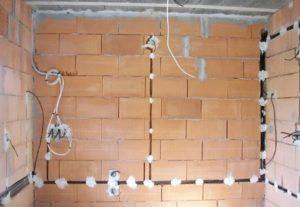 Электромонтаж в квартире, бане, гараже.