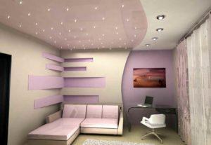 Хит сезона!!! Тканевый потолок в новую квартиру!