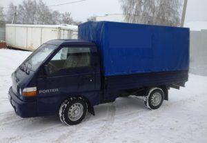 Недорогие грузоперевозки по Уфе. Hyundai Porter.