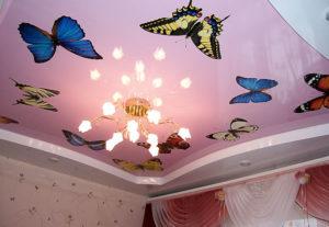 Качественные натяжные потолки в Уфе