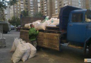 Вывоз строительного мусора по Уфе недорого.