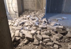 Демонтаж, слом стен, сооружений. Уфа, РБ.