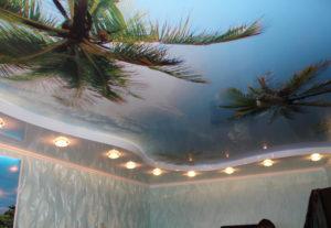 Натяжные потолки в Уфе.