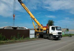 Автокран 25 тонн.