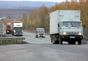 Услуги грузовых перевозов.