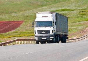 Мощные грузовики в Уфе.
