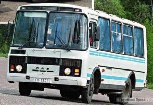 Автобус в любое время в Уфе.