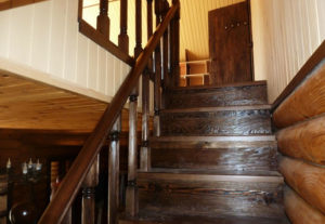 Изготовление и монтаж деревянных межэтажных лестниц, реставрация лестниц