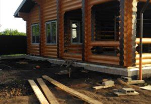 Строительство деревянных домов : сборка, кровля, отделка🔥🔥🔥